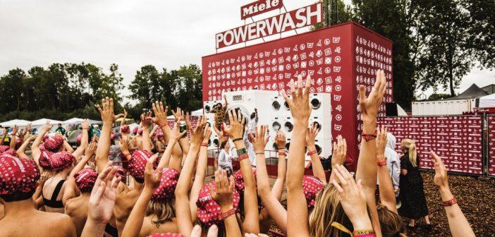 Miele sluit laatste PowerWash op Lowlands af